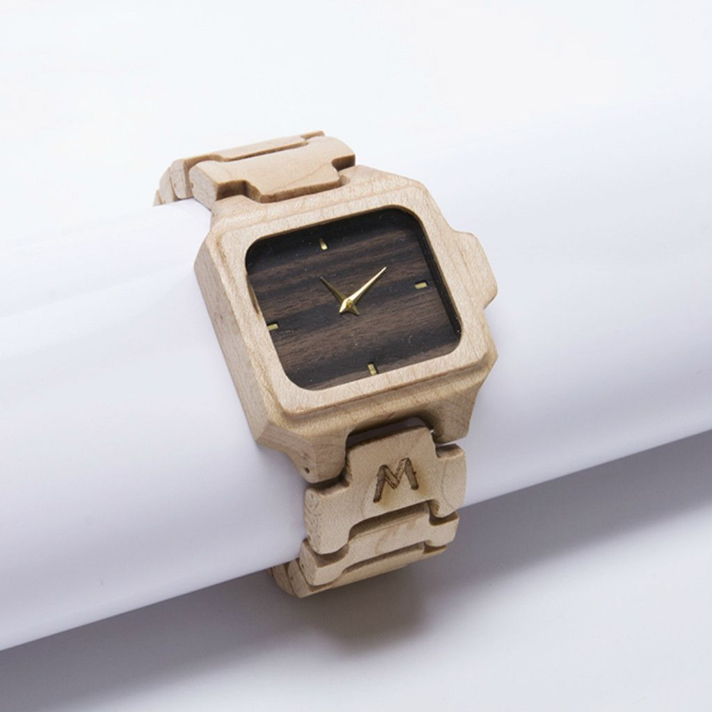 Sumba Maple Wood Watch