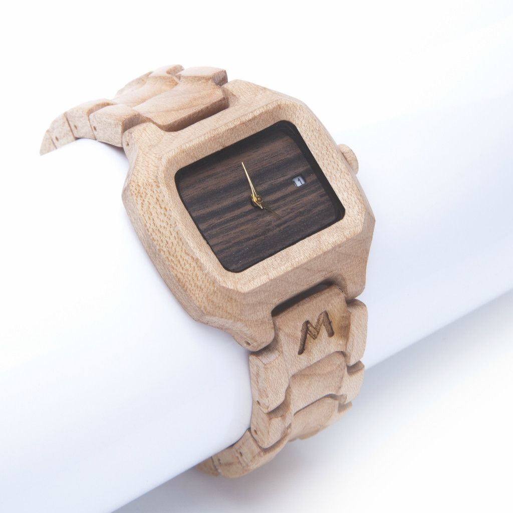 Sunda Maple Wood Watch