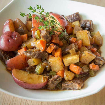 Savory Beef Stew with Hearty Vegetables - Stew Beef Included
