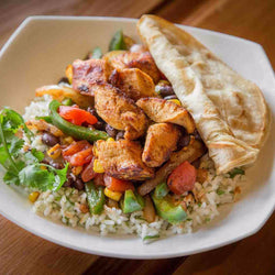 Southwestern Chicken with Peppers & Rice - Chicken Breast Included