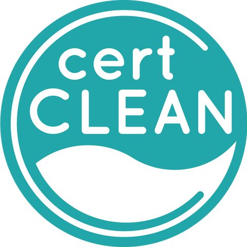 CertClean is a certification which prioritizes human health over the use of organic and natural ingredients