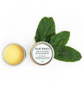 Peppermint - Lips Naturalle - Tin