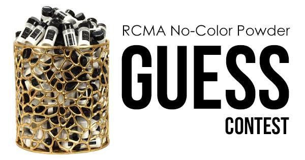 Guess to Win a FREE RCMA No Color Powder