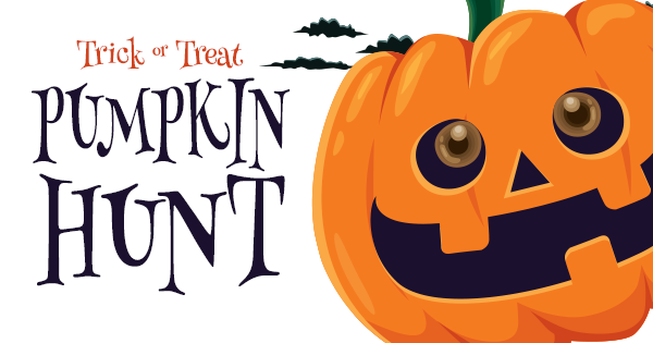 Trick or Treat Pumpkin Hunt