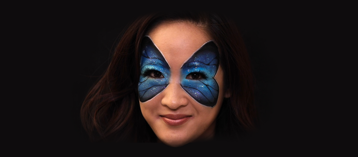 Butterfly Face Paint: SFX Tutorial Series, Part 6