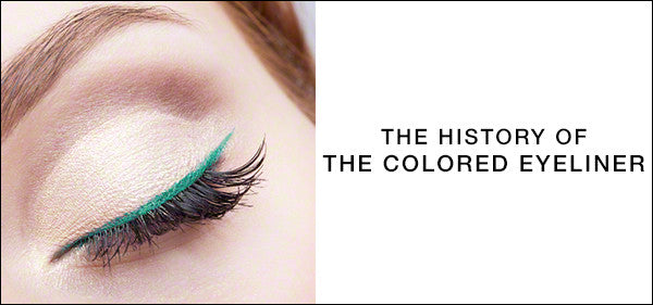 Behind the Trend: The History of Colored Eyeliner