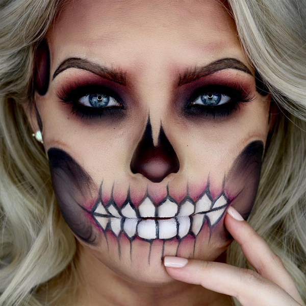 glam-skeleton-makeup