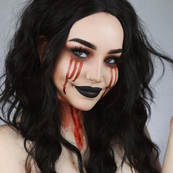 bloody-tears-makeup
