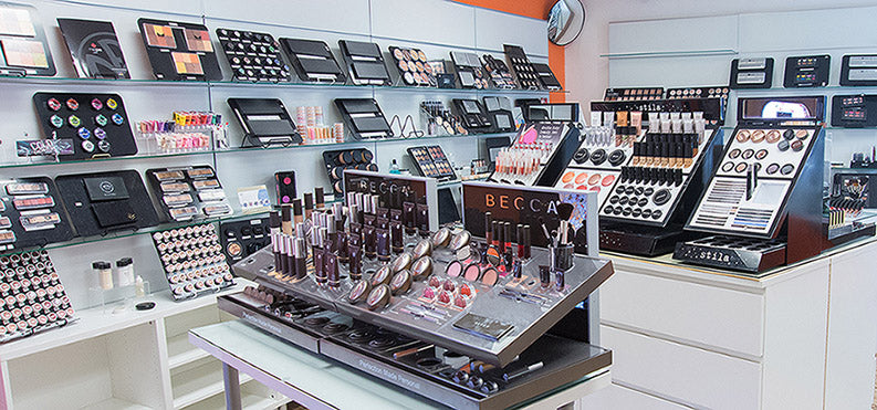 Camera Ready Cosmetics showroom in Dallas TX