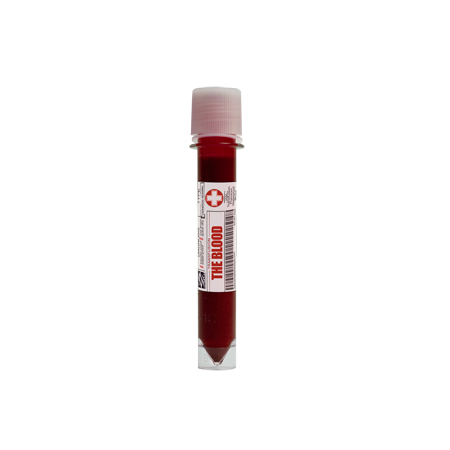 alt European Body Art - Transfusion Blood - The Blood Vial