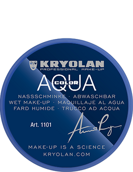 alt Kryolan Aquacolor 8 ml blue 3 (Aquacolor)
