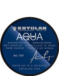 alt Kryolan Aquacolor 8 ml Deep Black (Aquacolor)