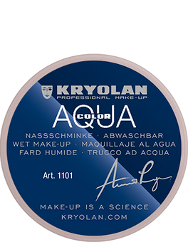 alt Kryolan Aquacolor 8 ml tv white (Aquacolor)
