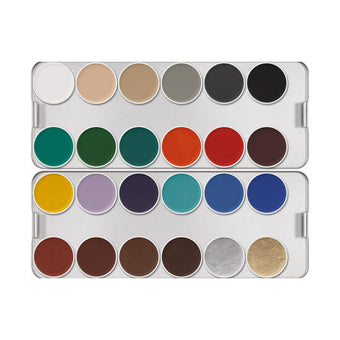 alt Kryolan Aquacolor Palette 24 Colors K