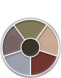 alt Kryolan Cream Color Circle Death