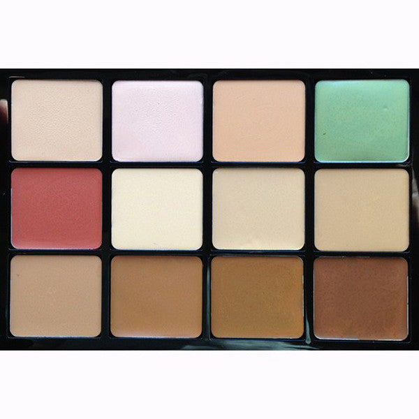 ALT - Viseart - Concealer & Camouflage HD 12 Palette - Camera Ready Cosmetics