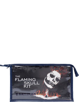 alt Kryolan The Flaming Skull Kit