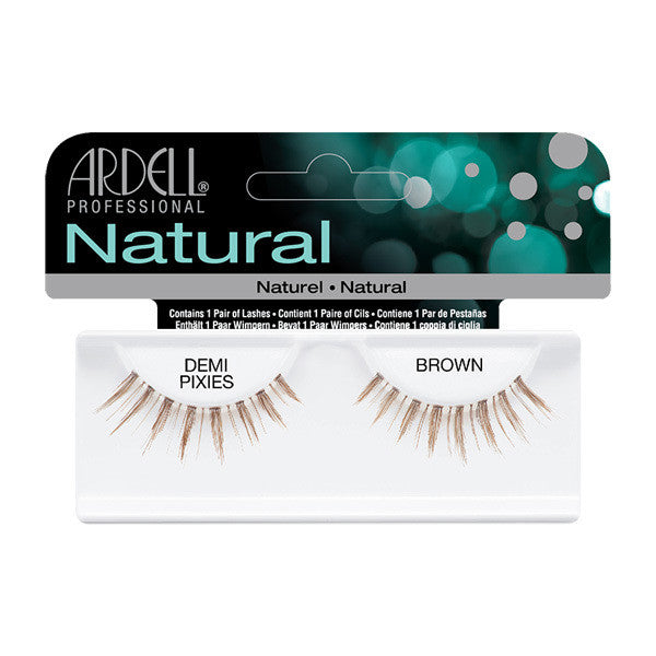 Ardell Natural Demi Pixies - Brown (65015) -  | Camera Ready Cosmetics