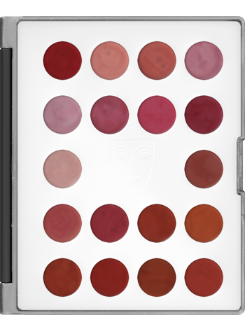 alt Kryolan Lip Rouge Mini-Palette 18 Colors LCP