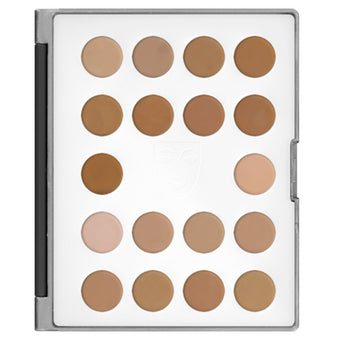 Kryolan - HD Micro Foundation Cream Mini-Palette 18 Colors (USA Only)  | Camera Ready Cosmetics