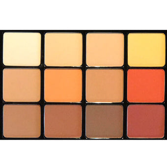 Viseart Eyeshadow Pallette - 10 Warm Mattes