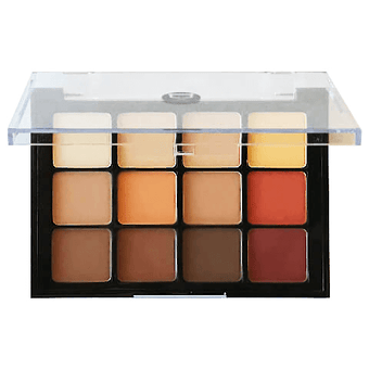 alt Viseart Eyeshadow Pallette - 10 Warm Mattes