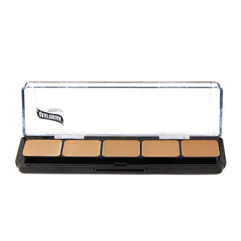 Graftobian Hi-Def Creme Foundation Palette - Neutral #2 (30272) | Camera Ready Cosmetics - 5