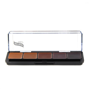 Graftobian Hi-Def Creme Foundation Palette - Neutral #3 (30273) | Camera Ready Cosmetics - 6