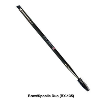 Royal and Langnickel Revolution Series Eye Brush - Brow/Spoolie Duo (BX-135) | Camera Ready Cosmetics - 4