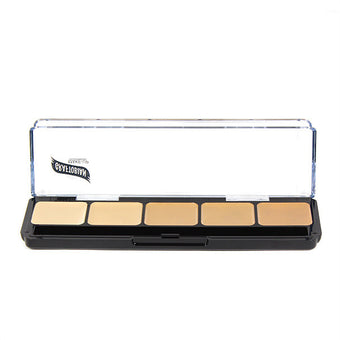 Graftobian Hi-Def Creme Foundation Palette - Warm #1 (30251) | Camera Ready Cosmetics - 9