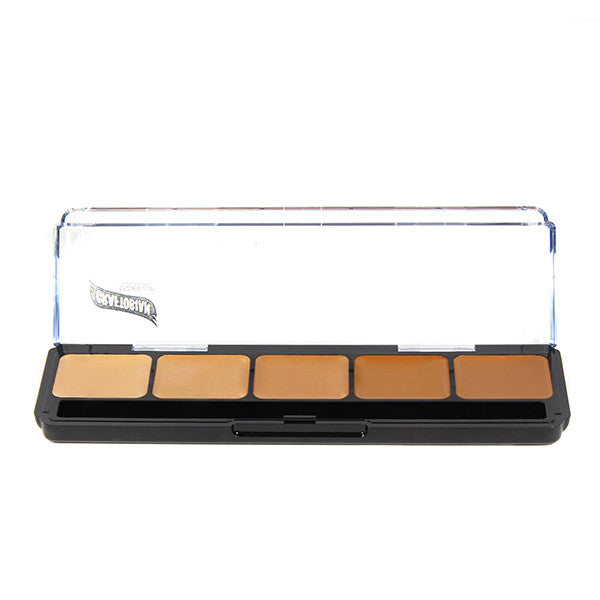 Graftobian Hi-Def Creme Foundation Palette - Warm #2 (30252) | Camera Ready Cosmetics - 10