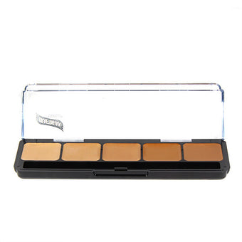 alt Graftobian Hi-Def Creme Foundation Palette Warm #2 (30252)