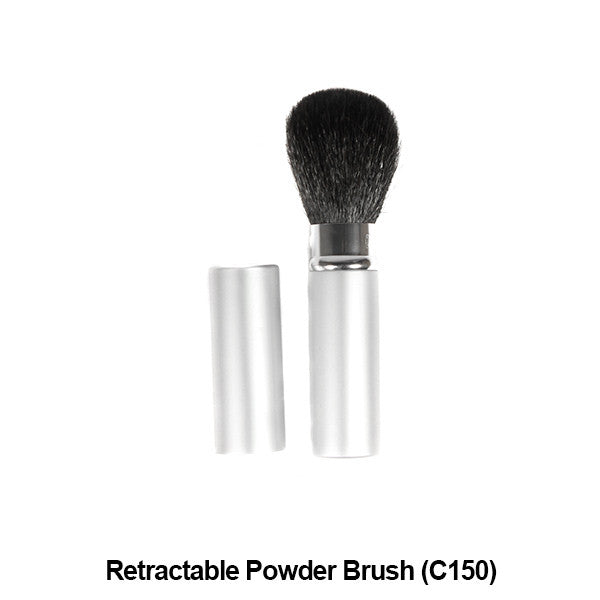 Graftobian Pro Royal Silk Line Individual Brushes (Sold Separately) - Retractable Powder Brush (78106) | Camera Ready Cosmetics - 26