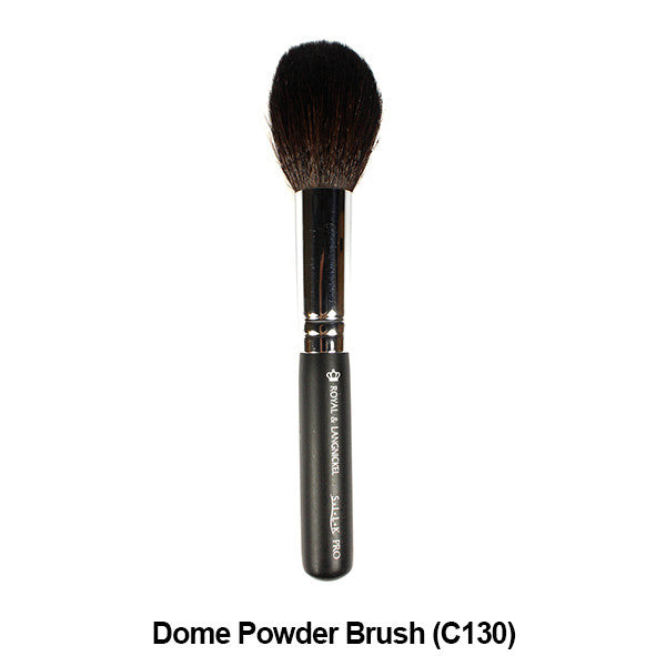 Graftobian Pro Royal Silk Line Individual Brushes (Sold Separately) - Dome Powder Brush (78104) | Camera Ready Cosmetics - 12