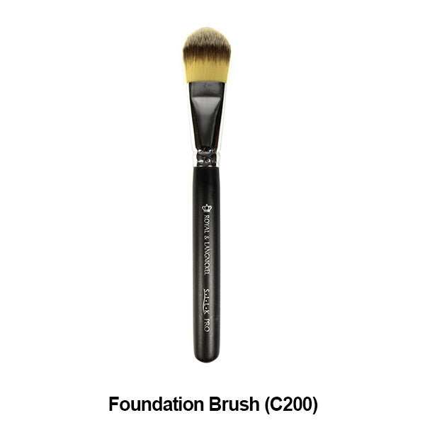 Graftobian Pro Royal Silk Line Individual Brushes (Sold Separately) - Foundation Brush (78109) | Camera Ready Cosmetics - 19