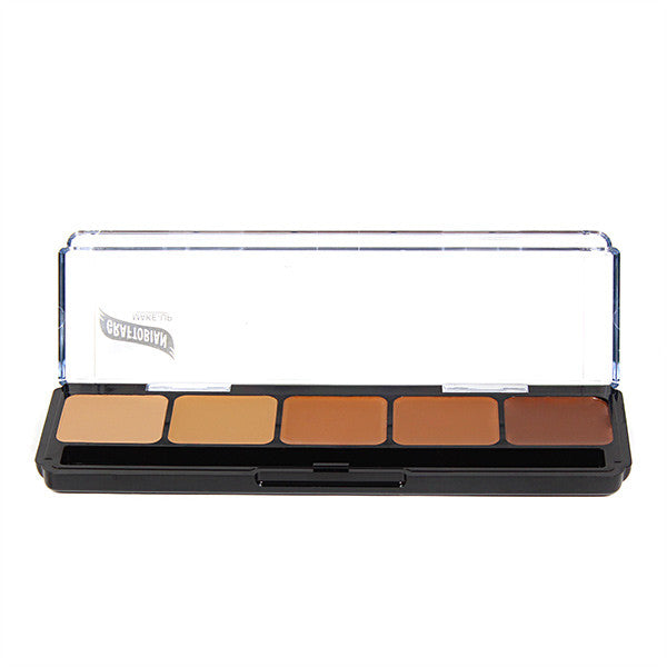 alt Graftobian Hi-Def Creme Foundation Palette Warm #3 (30253)