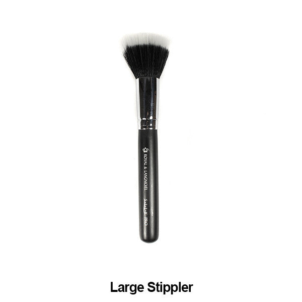 Graftobian Pro Royal Silk Line Individual Brushes (Sold Separately) - Large Stippler (78126) | Camera Ready Cosmetics - 21