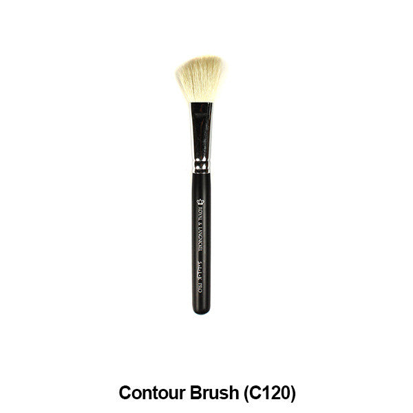 Graftobian Pro Royal Silk Line Individual Brushes (Sold Separately) - Contour Brush (78103) | Camera Ready Cosmetics - 9