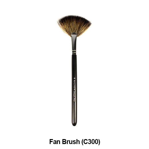 Graftobian Pro Royal Silk Line Individual Brushes (Sold Separately) - Fan Brush (78107) | Camera Ready Cosmetics - 17