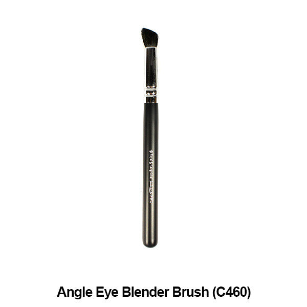 Graftobian Pro Royal Silk Line Individual Brushes (Sold Separately) - Angle Eye Blender Brush (78116) | Camera Ready Cosmetics - 2