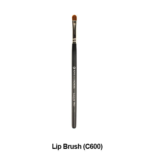 Graftobian Pro Royal Silk Line Individual Brushes (Sold Separately) - Lip Brush (78123) | Camera Ready Cosmetics - 20