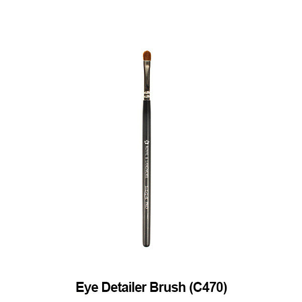 Graftobian Pro Royal Silk Line Individual Brushes (Sold Separately) - Eye Detailer Brush (78117) | Camera Ready Cosmetics - 13