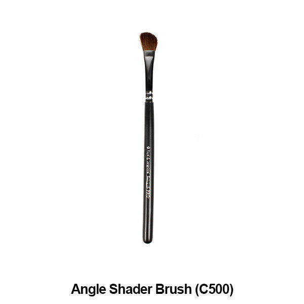 Graftobian Pro Royal Silk Line Individual Brushes (Sold Separately) - Angle Shader Brush (78120) | Camera Ready Cosmetics - 3