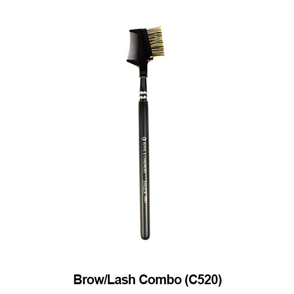 Graftobian Pro Royal Silk Line Individual Brushes (Sold Separately) - Brow/Lash Combo (78122) | Camera Ready Cosmetics - 7
