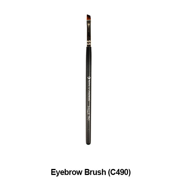 Graftobian Pro Royal Silk Line Individual Brushes (Sold Separately) - Eyebrow Brush (78119) | Camera Ready Cosmetics - 16