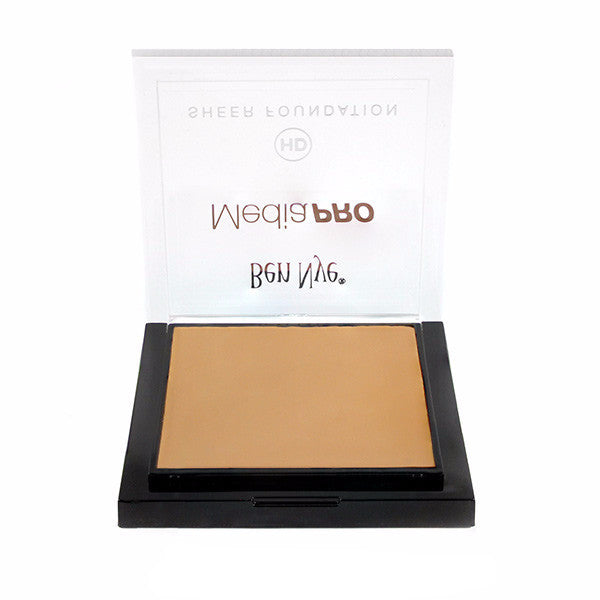 Ben Nye MediaPRO HD Sheer Foundation - Radiant Olive 1 (HD-405) | Camera Ready Cosmetics - 52