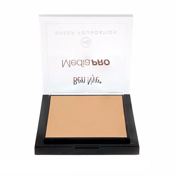 Ben Nye MediaPRO HD Sheer Foundation - Radiant Olive 2 (HD-406) | Camera Ready Cosmetics - 53