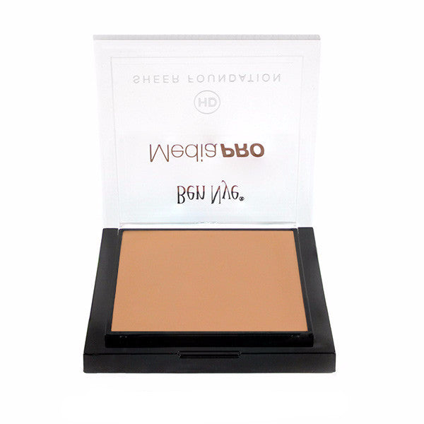 Ben Nye MediaPRO HD Sheer Foundation - Radiant Olive 3 (HD-408) | Camera Ready Cosmetics - 54