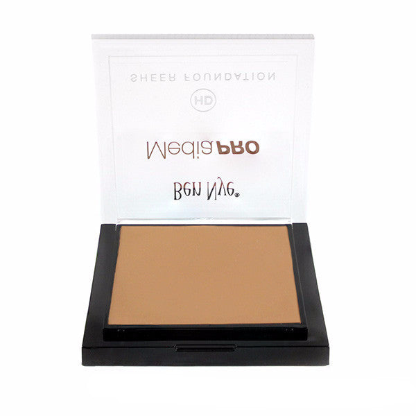 Ben Nye MediaPRO HD Sheer Foundation - Radiant Olive 4 (HD-409) | Camera Ready Cosmetics - 55