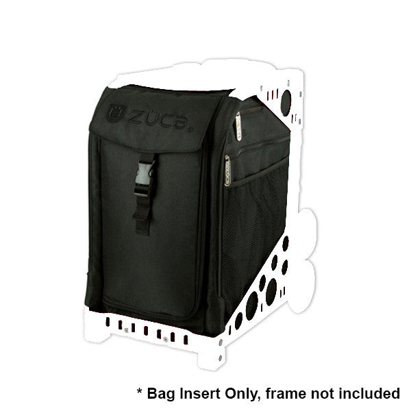 ZUCA SPORT ARTIST SOLID COLOR INSERT BAG - Stealth | Camera Ready Cosmetics - 10